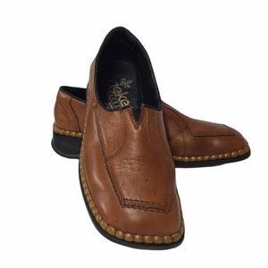 Rieker Brown Loafers in Excellent Condion